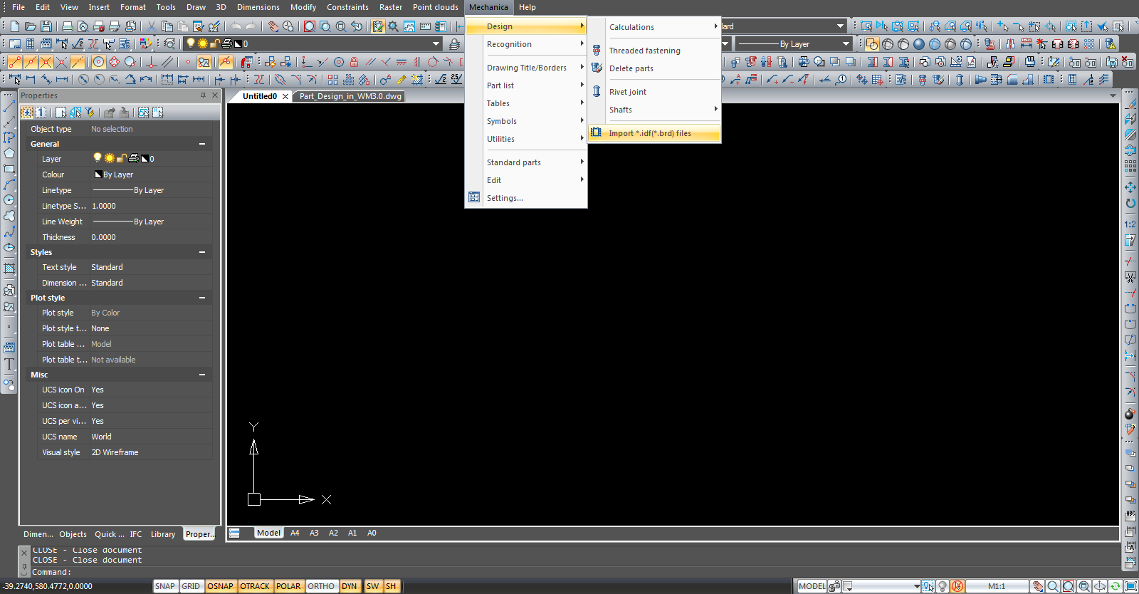Orcad and P CAD in IDF format