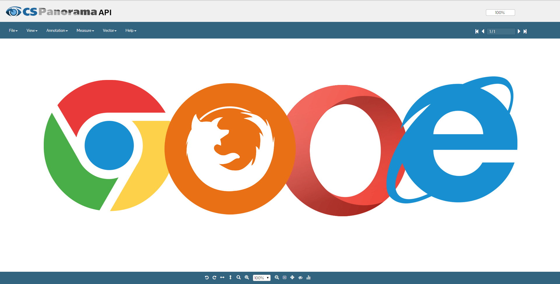 Supports all leading browsers